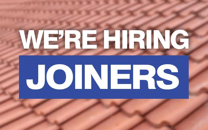Joiners Required York