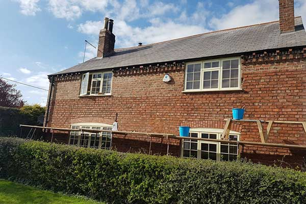 Lime Re-pointing Barton-le-Willows York