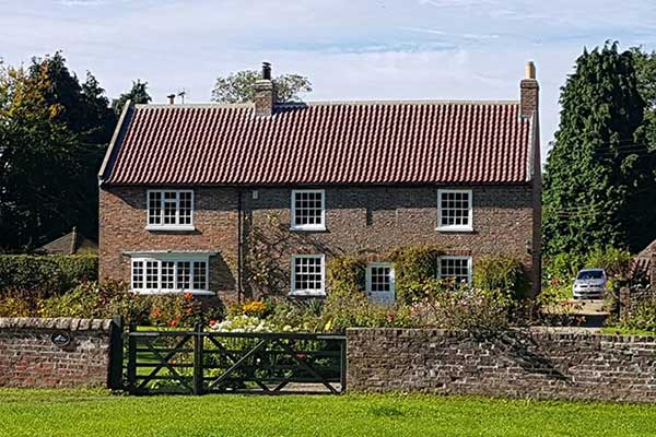 New roof Askham Richard - Listed Building