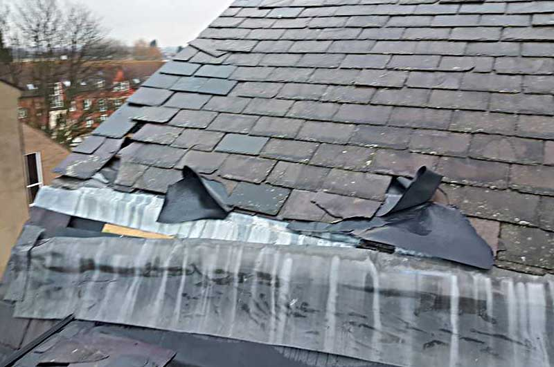 Storm Damaged Roof Acomb York