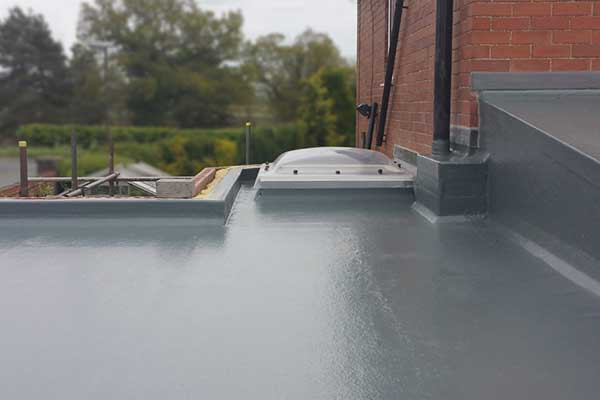 GRP Fibreglass Roofing - After Construction | TA Roofing York