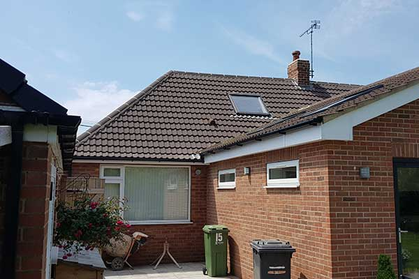 House re-roof Copmanthorpe York | TA Roofing