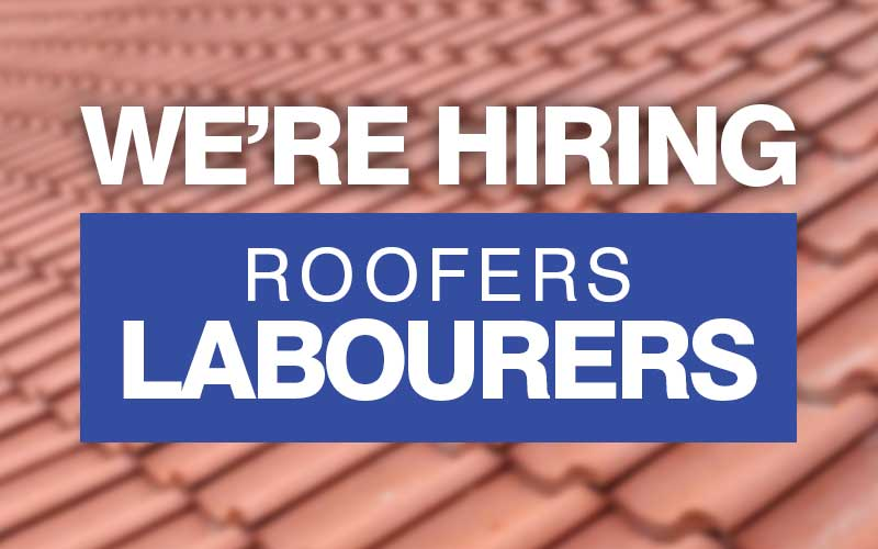 Roofers Labourers Wanted York