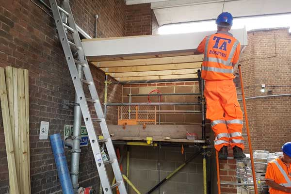 Roofing Work For Network Rail Ta Roofing