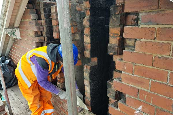 Masonry Repairs on Network Rail Property Selby