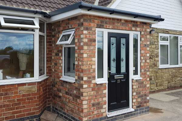 New build porch - Copmanthorpe, York