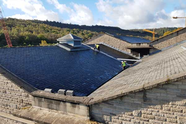 Roof Repair Work - Yorkshire Water Processing Plant, Sheffield