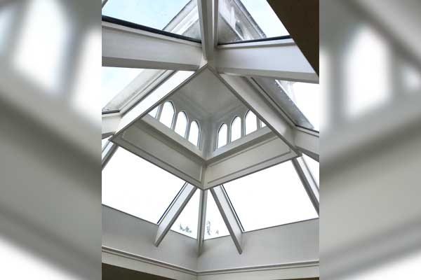 Repaired Timber Roof Lantern Inside TA Roofing