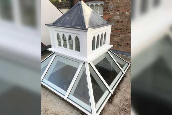 Repaired Timber Roof Lantern - TA Roofing