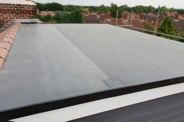 Rubberbond on New Dormer - York-2