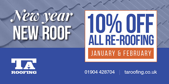 TA Roofing - Roofing Special Offer